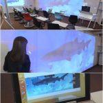 教室にサメ登場 未来の黒板など New Education Expo 2016