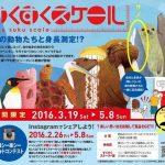 体験型デジタル遊具「すくすくスケール®」 あの動物もシークレットで登場 2016年3月19日~5月8日まで 鴨川シーワールド