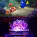 映画「ファインディング・ドリー」とアートアクアリウム誕生10周年記念祭のコラボ 日本橋会場と大阪会場で開催