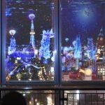 名古屋の空をシャチが泳ぐ!? CG投影で魚すいすい 栄 名古屋テレビ塔の展望台 プロジェクションマッピング 2015年11月20日(金)〜2016年2月14日(日)まで