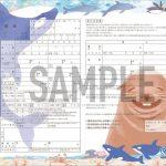 シャチの絵柄付き!オリジナル婚姻届 2015年12月23日から園内ショップにて発売 鴨川シーワールド