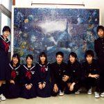 つまようじ11万本でできたシャチ 遠軽町立南中学校 北海道